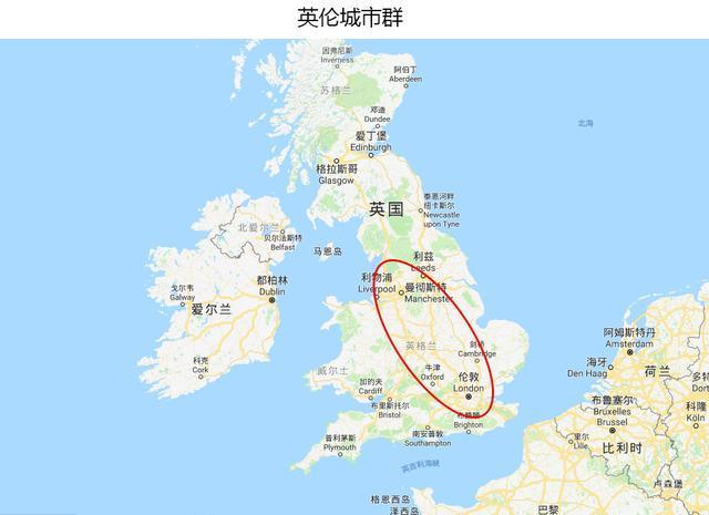 英国主要城市地图_英格兰地图图片