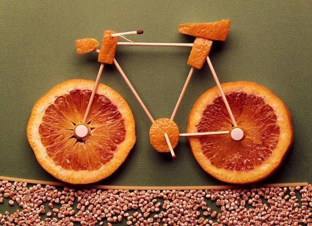 摆出年夜饭焦点的创意简单漂亮水果拼盘!