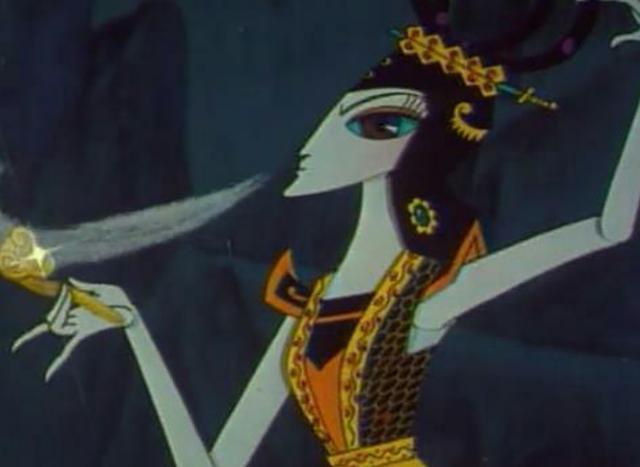 《葫芦娃》蛇精和自己的妹妹比起来还是稍逊一筹图片