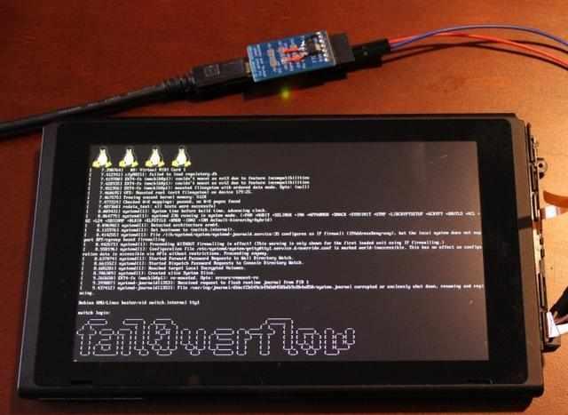 任天堂Switch被黑客破解运行Linux|任天堂|黑客|Linux