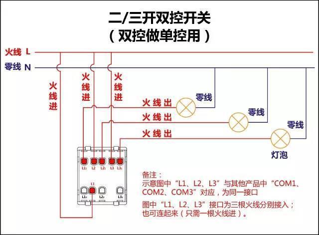 电工必备|电路图与接线图大全 开关 插座 回路, 非常