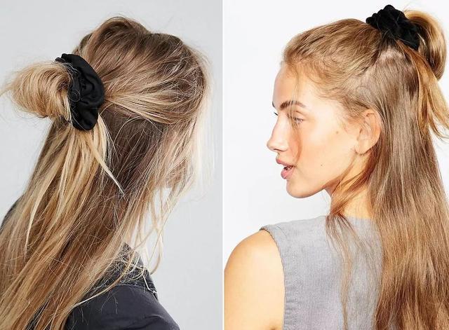 头花除了可以用来扎头发,不扎头发的时候还可以当腕饰用.图片