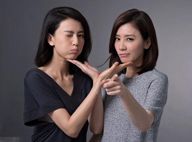 她们外貌90%相似度,让人分不清,有一种友情叫高圆圆和贾静雯