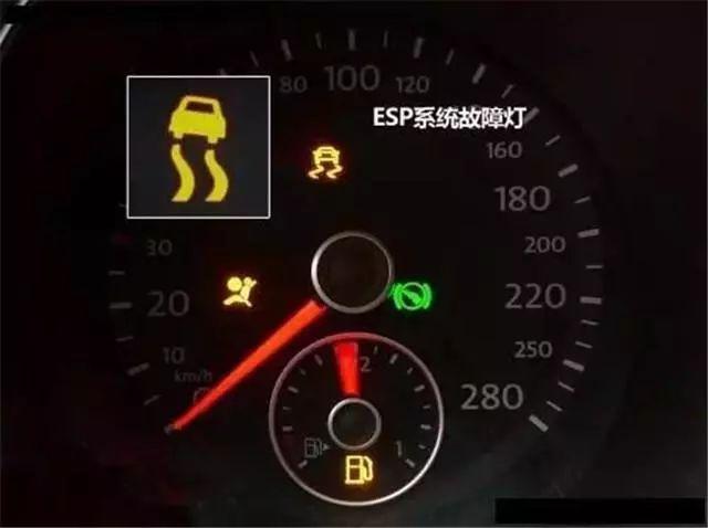 仪表盘9大故障灯,亮起以后需要格外注意,应及时停车