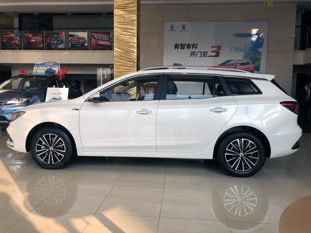 荣威首款电动旅行车,荣威Ei5新车到店