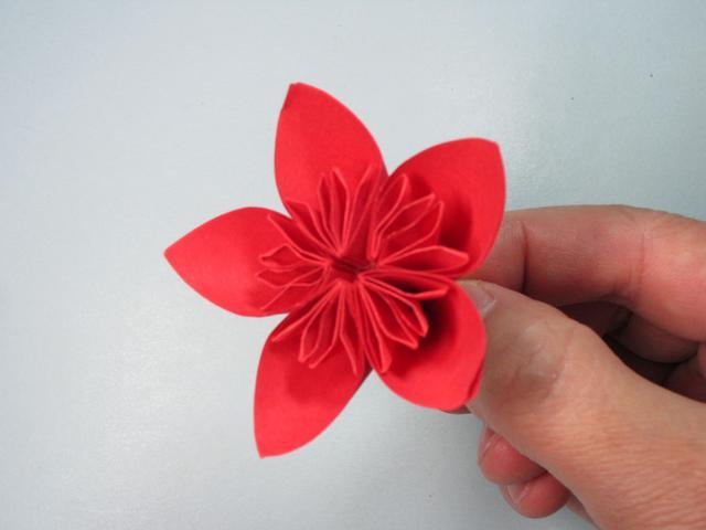 大家好,我是折纸多多,今天我们来折美丽的樱花。 在樱花飞舞的季节里,最想做的事情就是和喜欢的人一起漫步在樱花林中,感受着ta的好与美。这种樱花的折法比较简单,是由五个相同的花瓣粘在一起组合成的,而每个花瓣的折法也只需要几步,几分钟就能完成一朵美丽的樱花,一起来看看樱花的折法吧。