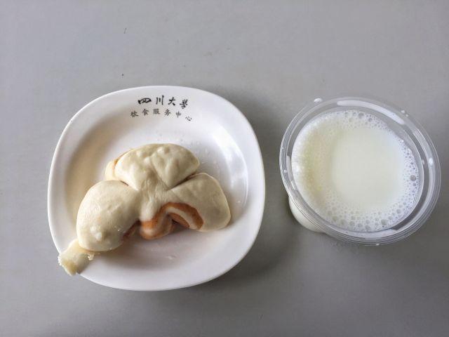 豆沙包——四川大学江安校区西园二餐厅