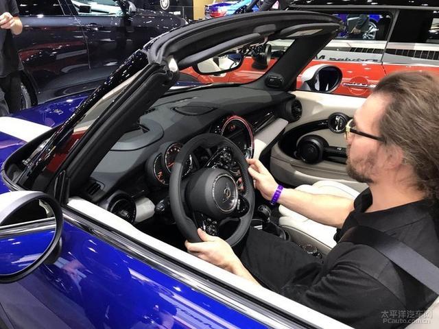 2018北美车展:新款MINI CABRIO全球首发