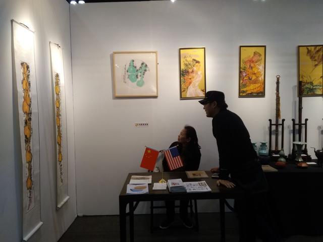 弘扬中华文化 传播中国好声音:商会圆满参展2018洛杉矶国际艺博会