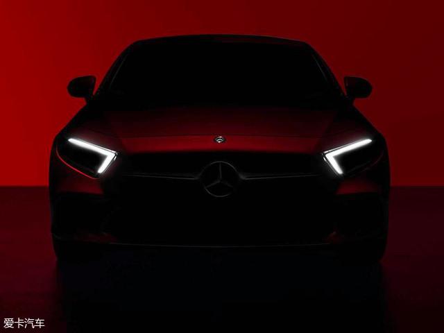 全新奔驰A级预告图发布 2月2日全球首发