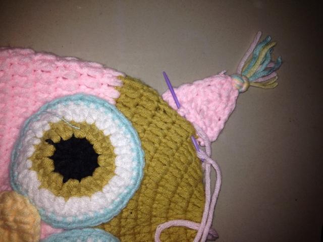 钩针编织宝宝护耳帽教程,温暖好看,不看准后悔!