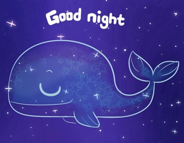适合发给朋友的晚安心语:晚安,好梦!