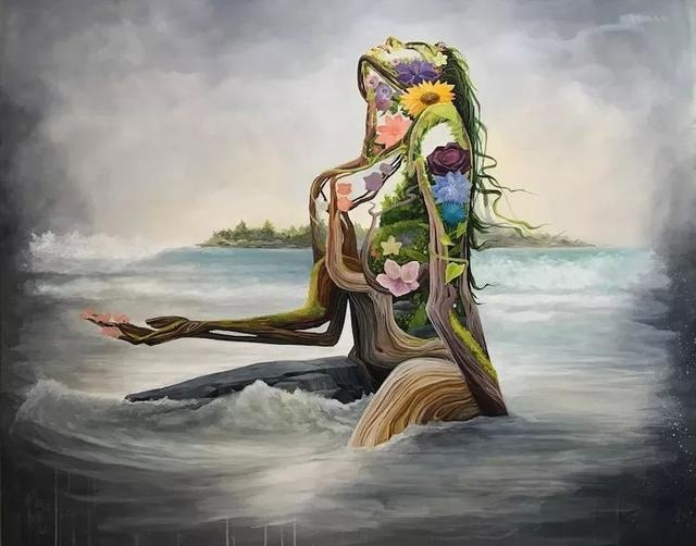 """超现实主义画家的""""大地母亲"""",有女性的性感,也有母亲的神圣"""