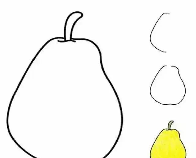 五彩缤纷的水果简笔画大全(幼儿园及亲子教学必备)