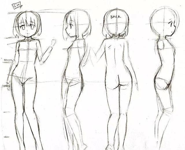 「全套」二次元动漫人物手绘教程