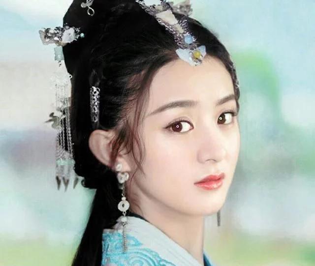 2018年古装剧最美的女主角,赵丽颖和杨蓉越看越耐看,真美