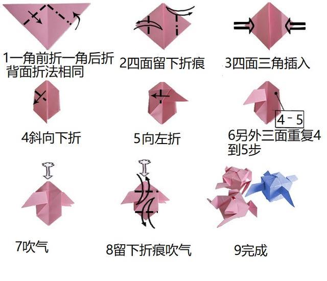 简单折纸大全图解葫芦