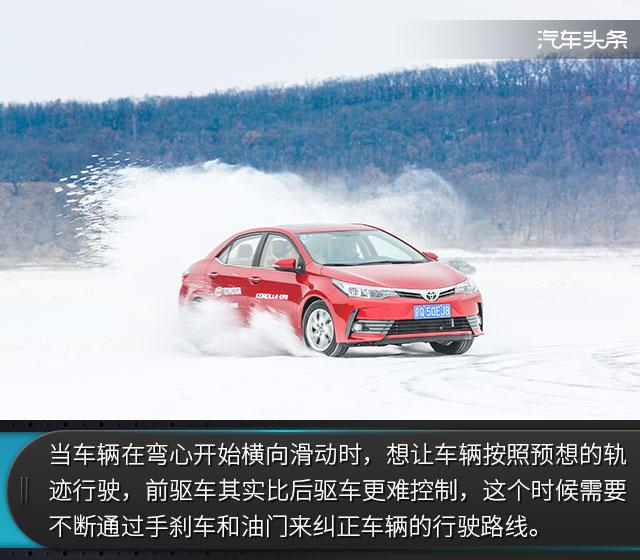 快让我在雪地上撒点野! 一汽丰田冰雪试驾体验