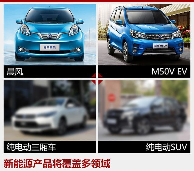 东风启辰将推3款纯电动车 含轿车/SUV