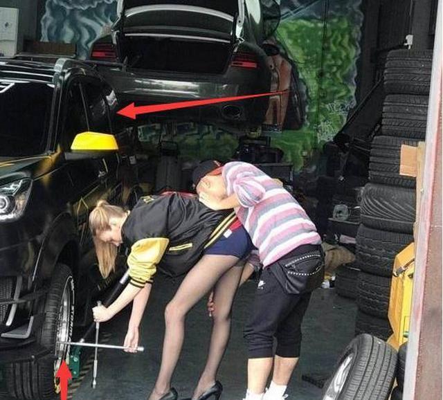 a女生女女生爆改五菱宏光S3,交警看到说了这番谎话的司机图片