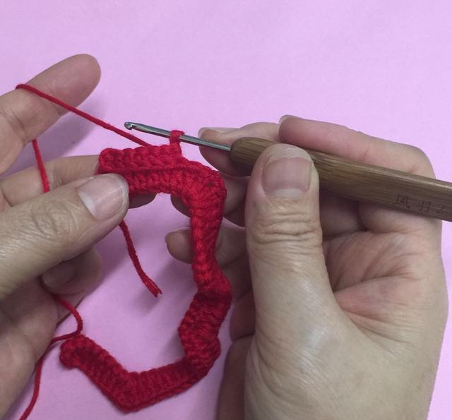 漂亮的钩针花样 详细图解 手工编织(18)