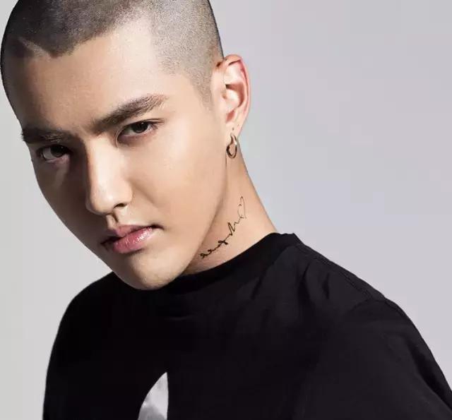 彭于晏的寸头不仅得益于他的五官长得好,还因为他的头型也特别好看.图片