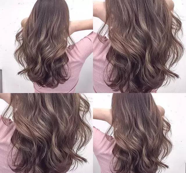 年底短发中发长发卷发颜色参考图片