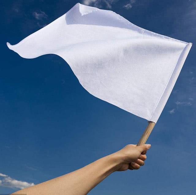 梦见老婆举白旗