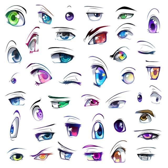 人物画得像,眼神很重要,初学者眼睛手绘教程