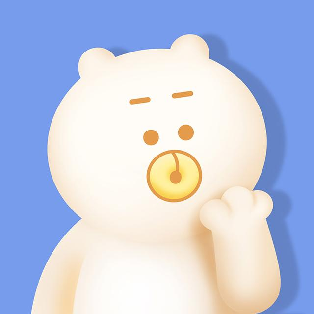 动漫头像:可爱q版熊猫女孩情侣头像,快来收图!