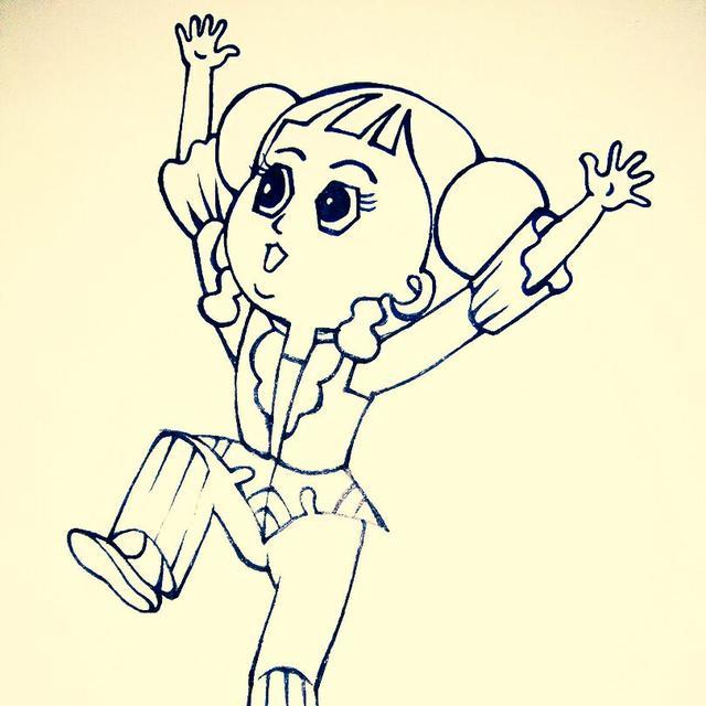 儿童简笔画 快乐葫芦娃画法