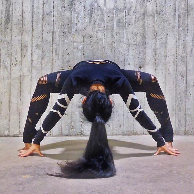 所以具有很好的瓶颈瘦腿,是方法瘦腿当中瑜伽的一个作用动作.减肥最好期突破图片