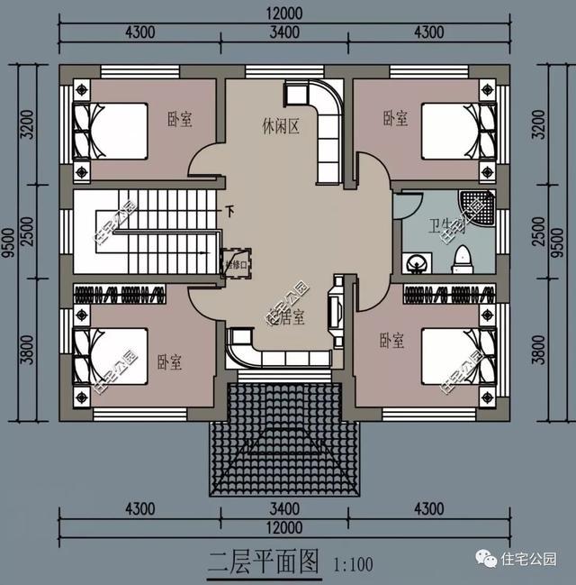 农村自建房长9.5米宽12.6设计图怎样来设计呢