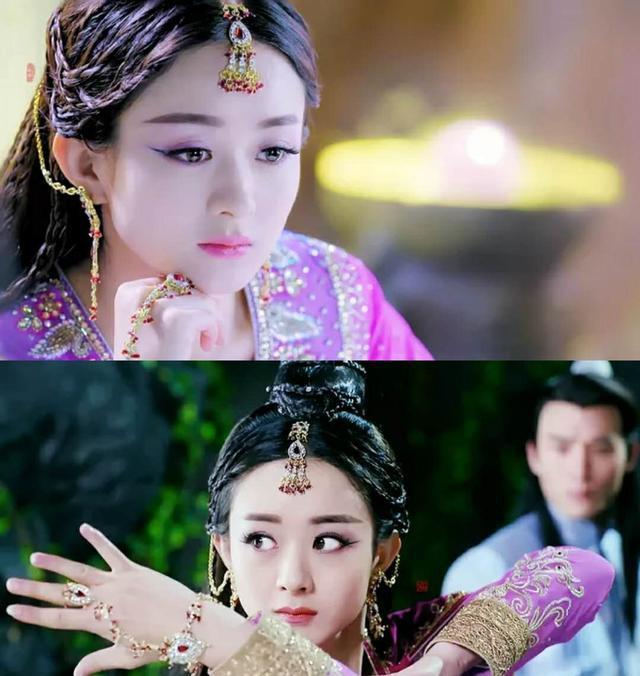 古装戴手链的女子,赵丽颖杨幂李沁,你最心水哪一款?