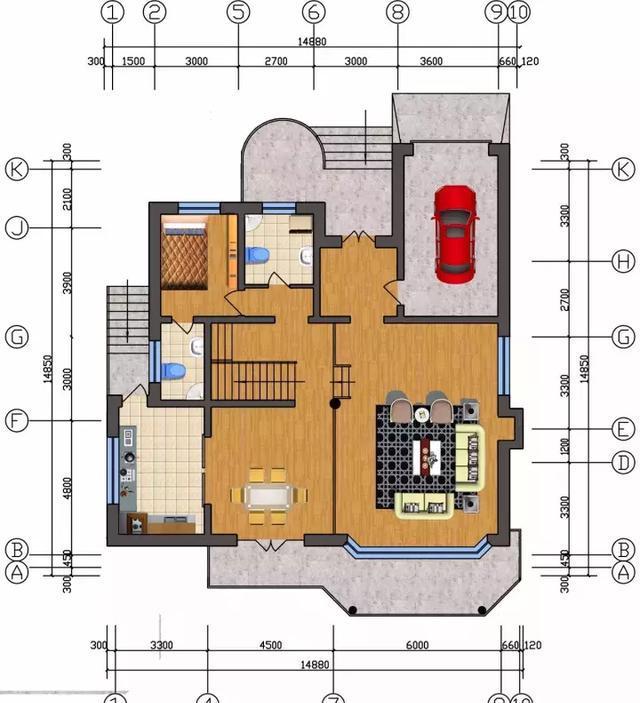 农村自建房设计图15x15