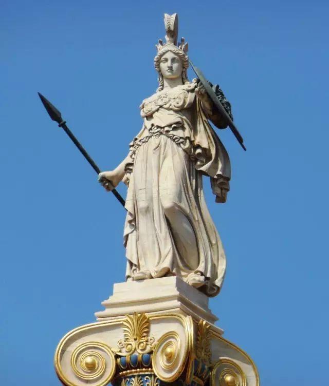 张口就来【每日一刻】智慧女神雅典娜