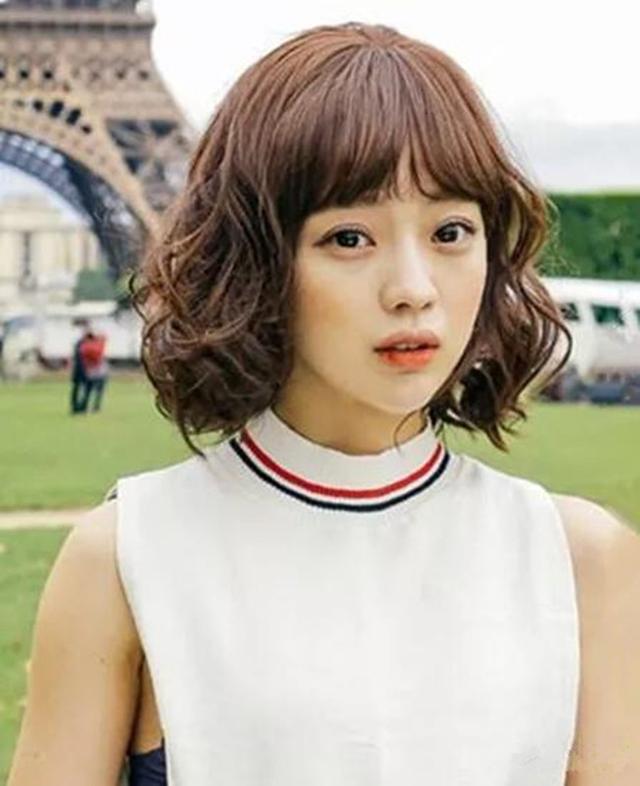 2018流行的发型女短发烫发发型|短发|发型|烫发_新浪网