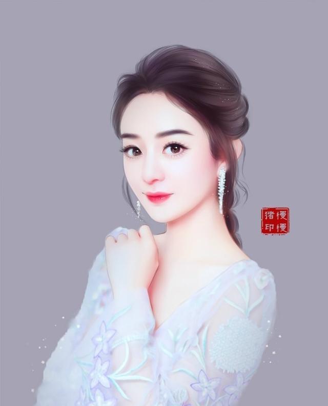 16张赵丽颖手绘图,你最喜欢哪个?