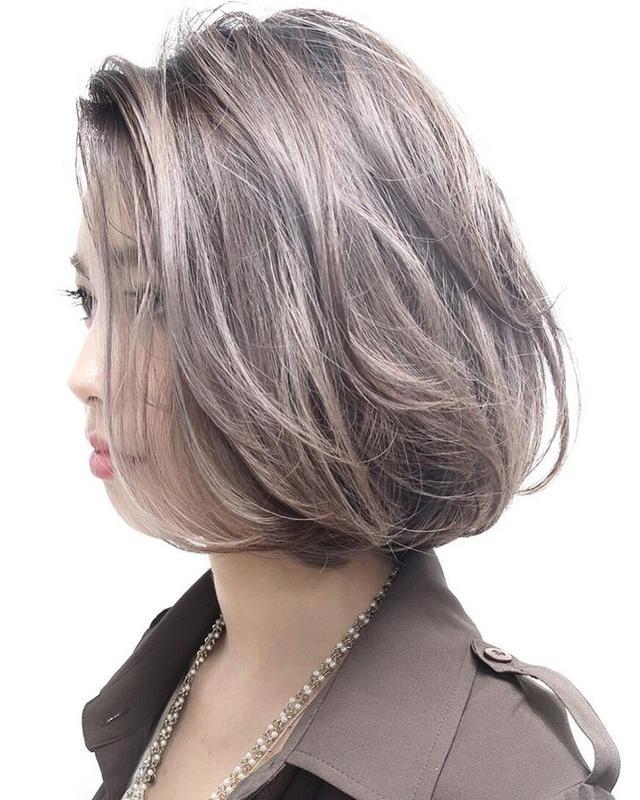 2018年,最火爆的短发烫发发型,你适合那一款?图片