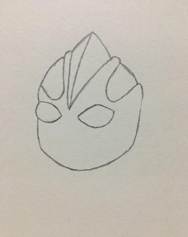 简笔画——奥特曼的画法