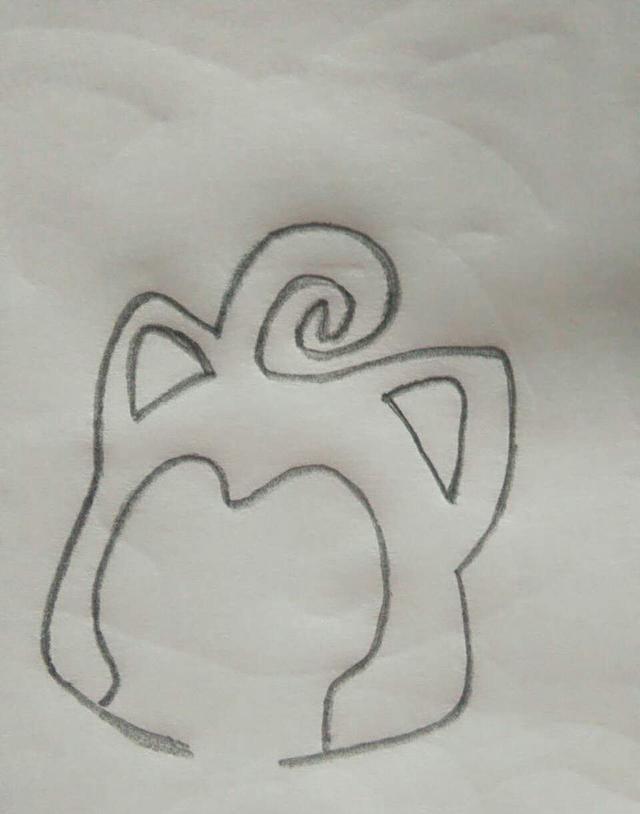 阿狸和桃子,小朋友们按步骤一步步坚持画下来哦,加油!