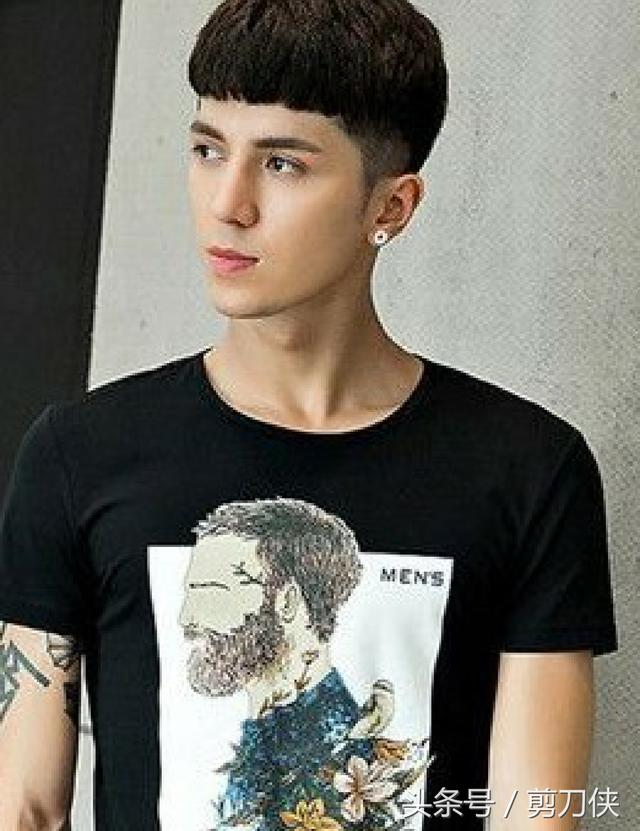 男生发型大全,5种风格,明星同款,收藏着拿去找你的tony老图片