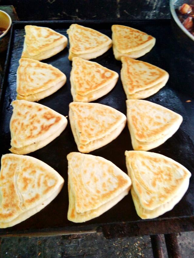 最经典的山西面食,正宗晋南油酥烧饼1000多家都用这