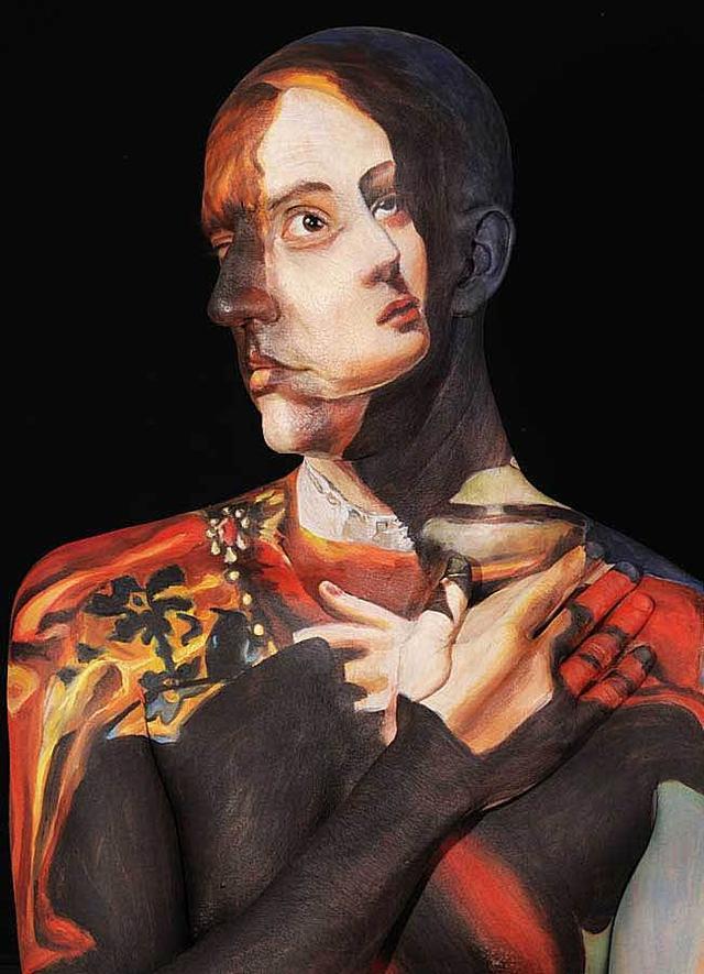 世界最老的人体艺_人体艺术:我的身体虽成了世界名画,但也让我精神恍惚