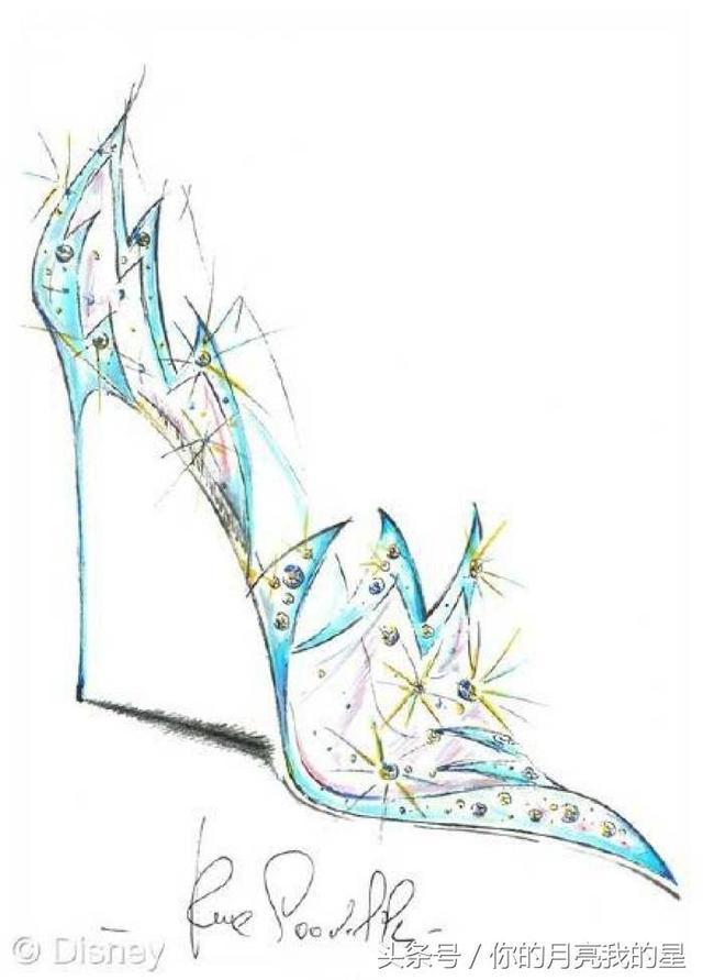 十二星座的专属手绘灰姑娘水晶鞋,最后一双真的美炸了