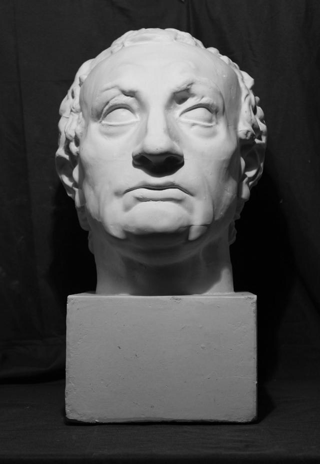素描石膏头像:将军《加塔梅拉塔》