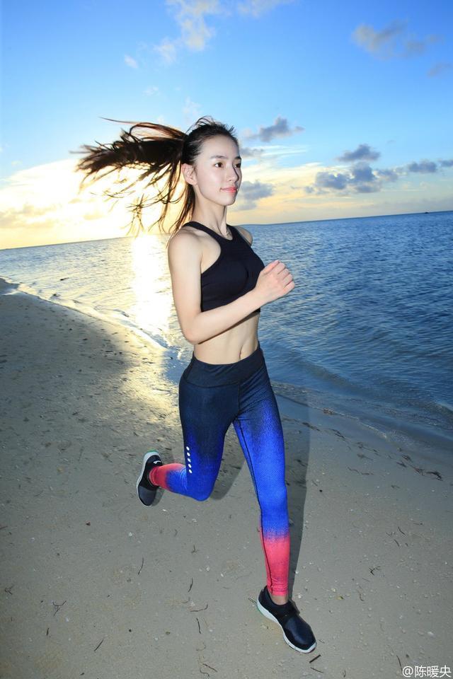 杭州健身模特爱健身会搏击 身材惹火