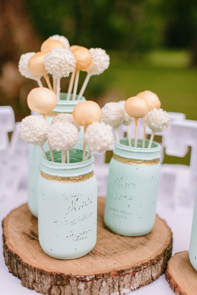 2018婚礼甜品流行趋势, 填满你甜品桌的最可爱棒棒糖蛋糕