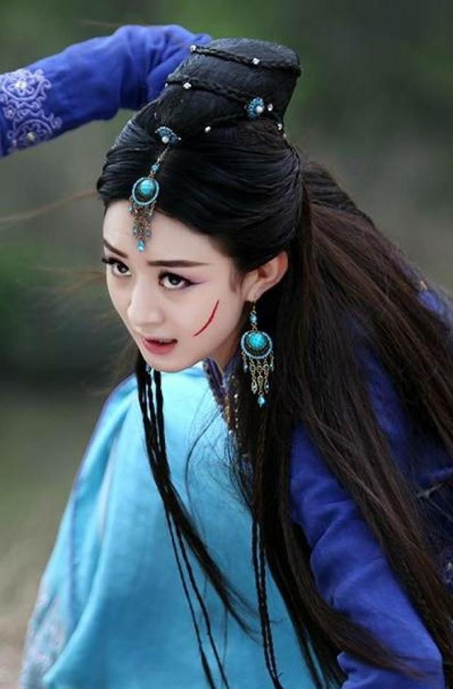 四部古装剧中赵丽颖最美的造型,最后一部才是亮点