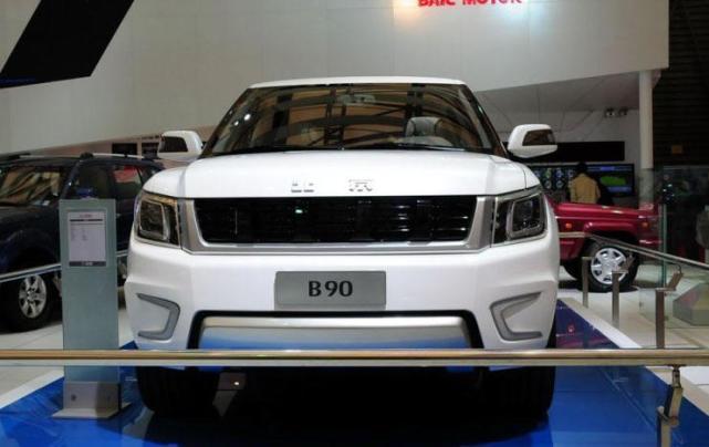 北汽设计最成功的的一辆SUV, 足够取代揽胜了, 全国人民盼它上市